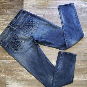 Rock & Republic skinny jeans size 10
